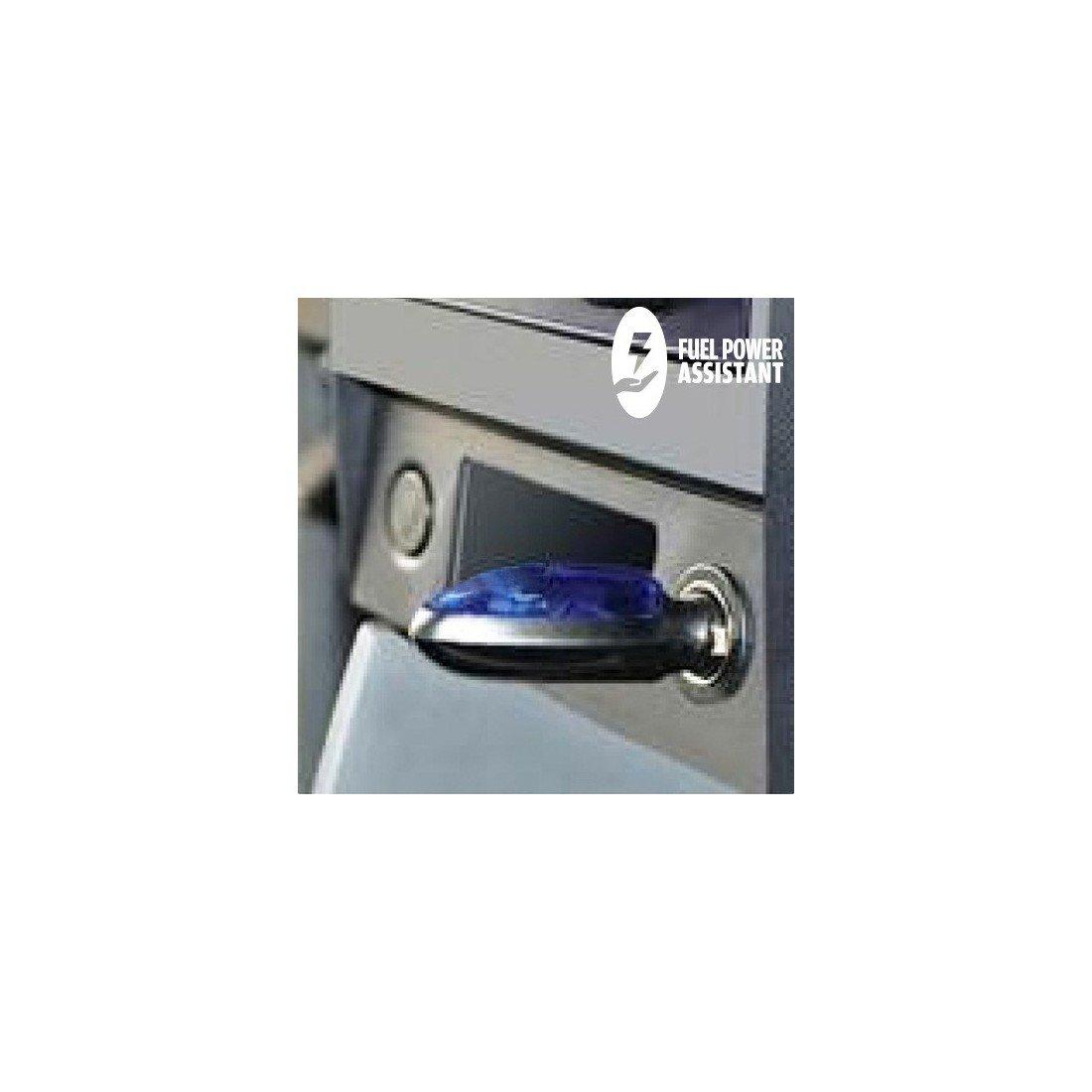 Bitblin Fuel Power Assistant Ahorrador de Combustible Azul