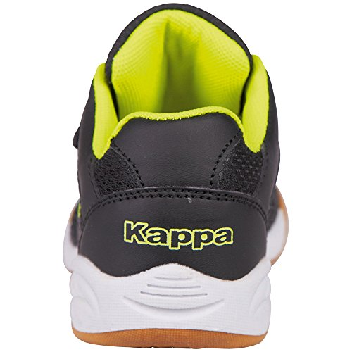 Black Kickoff 1140 Kappa Unisex Teens Zapatillas Niños Negro yellow d7WWq0zUa