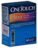 One Touch Ultra Test Strips, 50 CT