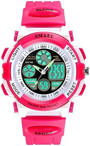 Siniya Kids Watch Quartz Watch Waterproof Sports Watch Boys Girls Led Digital Watches for Kids