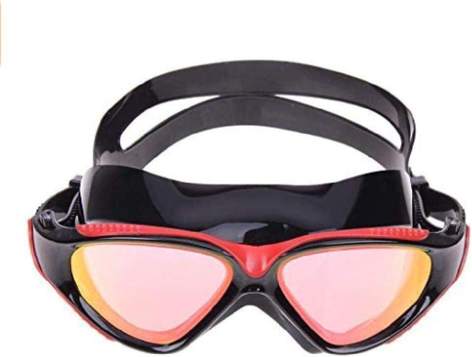 fyhtydsr Gafas de natación antiniebla para Deportes Profesionales, Buenas para Actividades al Aire Libre