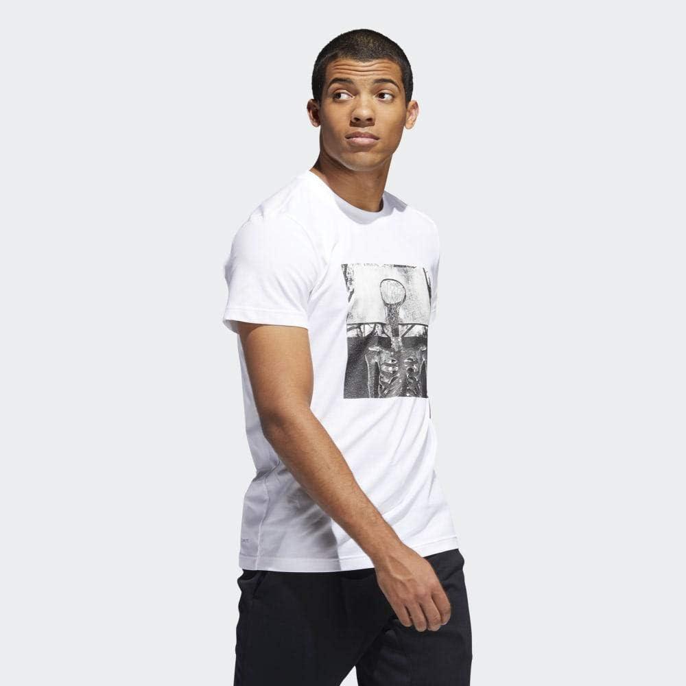 adidas Skull Ball Camiseta de Baloncesto Hombre