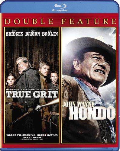True Grit (2010) / Hondo Double Feature [Blu-ray]