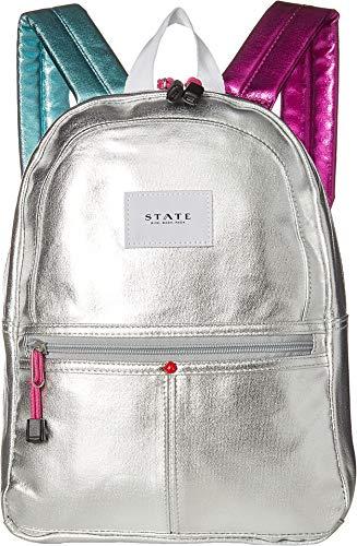 STATE Bags Women's Mini Kane Backpack Silver Multi One ()