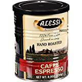 Alessi Coffee - Caffe Espresso - 8.8 oz - Case of 6 - Perfect blending of the most exotic beans
