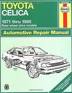 toyota celica supra 1979 1992 haynes manuals john haynes mike rh amazon com 1992 Toyota Celica 2000 Toyota Celica
