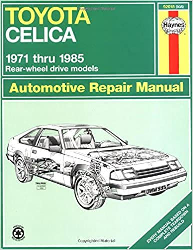 Toyota celica 7185 haynes repair manuals haynes 0038345009358 toyota celica 7185 haynes repair manuals 1st edition fandeluxe Gallery