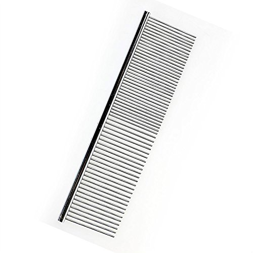 Seven Top Asymmetric Hot Sell Steel Pet Hair Trimmer Comb Dog Cat Cleaning Brush