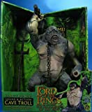 2001 Lord of the Rings Fellowship of the Rings Deluxe Sound and Action Cave Troll Action Figure