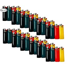 Bic Full Size Assorted Colour Lighters (Pack of 12)