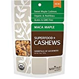 Navitas Naturals Organic Maca Maple Superfood Plus Cashews, 4 Ounce - 12 per case.
