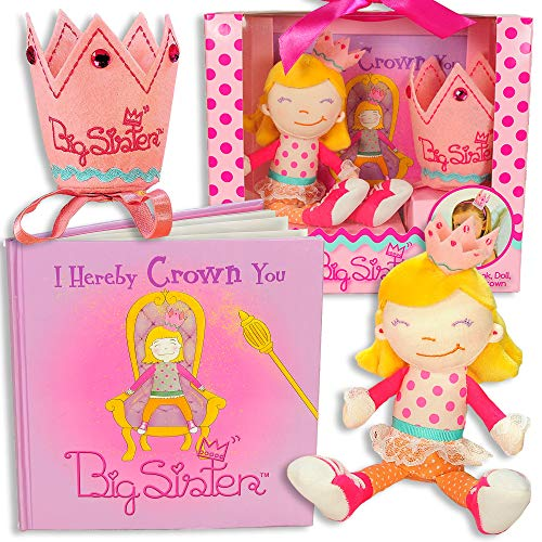 Tickle & Main Big Sister Gift Set- I Hereby Crown You Big...