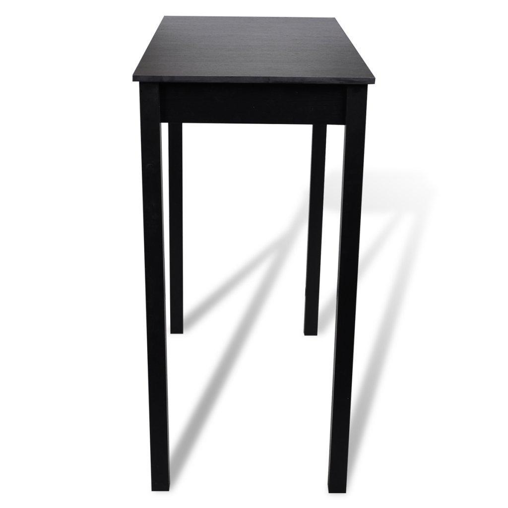 Table bar table haute cuisine rectangulaire 115 x 55 x 107 cm ...