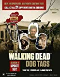 Walking Dead Dog Tags Season 2 Update (4 Packs) - SEARCH FOR OTHER PACKAGES