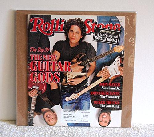 Rolling Stone Magazine Issue 1020 >> February, 2007, the Top 20, the New Guitar Gods, John Mayer, John Frusciante, Derek Trucks