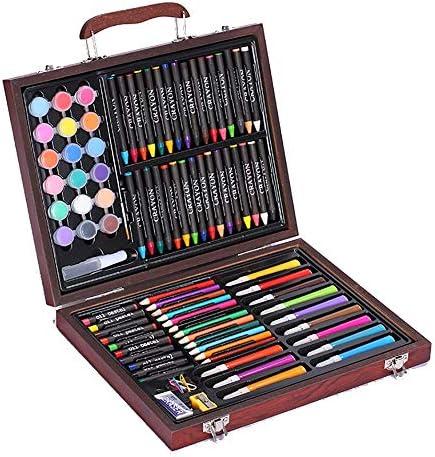 MELLRO Wasser Farbstift Buntstifte Buntstifte Fall Zeichnung Teens Kinder 101 Stück Kinder Art Set Geschenke für Kinder (Color : Natural, Size : Free Size)
