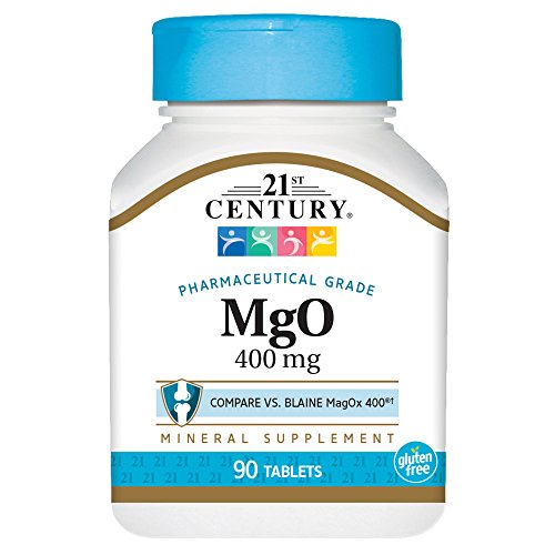 21St Century Mgo 400 Mg Tablets  90 Count
