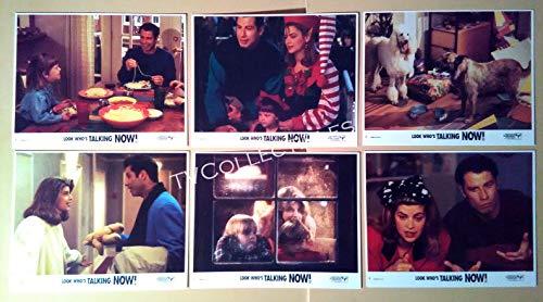 Lobby Card Lot~Look Whos Talking Now~John Travolta~Kirstie Alley~David Gallagher