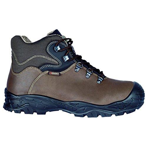 Cofra 22200-001.W41 Strapping UK S3 SRC Chaussures de sécurité Taille 41 Marron
