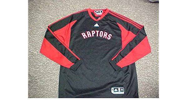 ce14607366b Jose Calderon Toronto Raptors 2009 L/S Shooting Shirt at Amazon's Sports  Collectibles Store