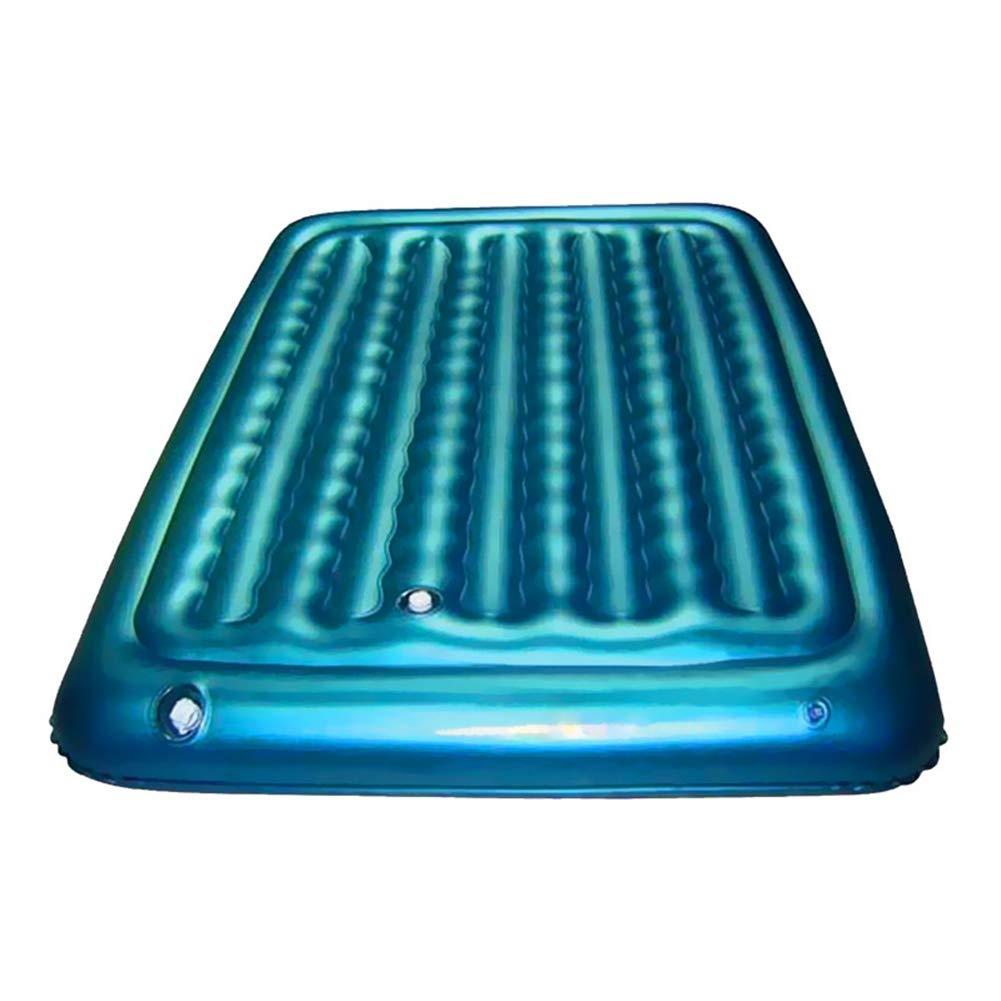 Sucastle Flotador Inflable para Piscina con Forma de Cama de Aire,para Adultos niños Playa Fiestas de Piscina Juegos Decoraciones de salón terraza 190x75x22cm