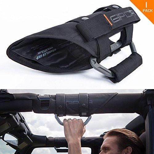 GPCA Wrangler Metal Grab Handle -GP-Grip PRO for Jeep JK JKU Sports/ Sahara/ Freedom/ Rubicon X Unlimited X 2DR/4DR 2007-2017 w/ 3