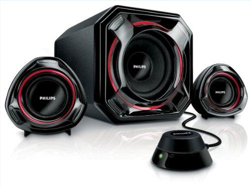 Philips SPA 5300/10 2.1 Multimedia-Lautsprechersystem 100 Watt