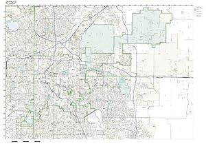 Amazoncom ZIP Code Wall Map Of Denver CO ZIP Code Map Laminated - Colorado zip code map