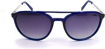 Mec Oval Polarized Sunglass Blue/Blue Unisex MS7083C4