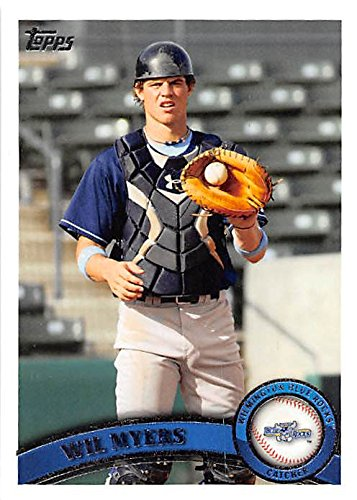 Wil Myers baseball card (San Diego Padres All Star Wilmington Blue Rocks) 2011 Topps Pro Debut #11 - Padres Rock