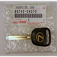 Lexus 89742-24070, Remote Control Transmitter for Keyless Entry and Alarm System