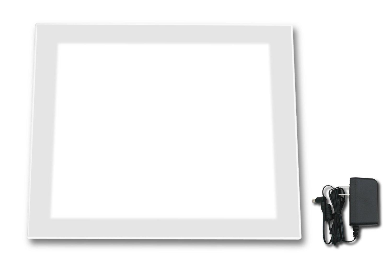 日本製「側面スイッチで誤動作防止」「1万5千Lx⇔1万Lx切替」超高輝度 A4幅広トレース台 高演色 LEDビュアー5000N6(N6-02)   B01NCK6VKD