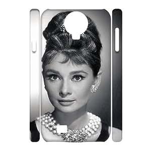 C-Y-F- Audrey Hepburn Phone 3D Case For Samsung Galaxy S4 i9500 [Pattern-6]
