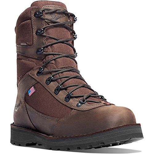 Danner East Ridge Brown Insulated 400G Boot 10 height (62115) Hunting Boots Vibram Sole | Gore-TEX (GTX) Waterproof Hiking Leather Boots | Made In USA Modern Battlefield Combat Boot 0USpKWu
