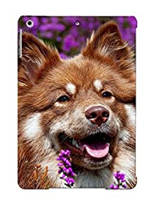 Case For Ipad Air Tpu Phone Case Cover(dog In Lavender Field) For Thanksgiving Day's Gift