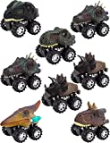 Apipi 8 Pack Pull Back Dinosaur Cars Toys - Christmas Gifts Toys