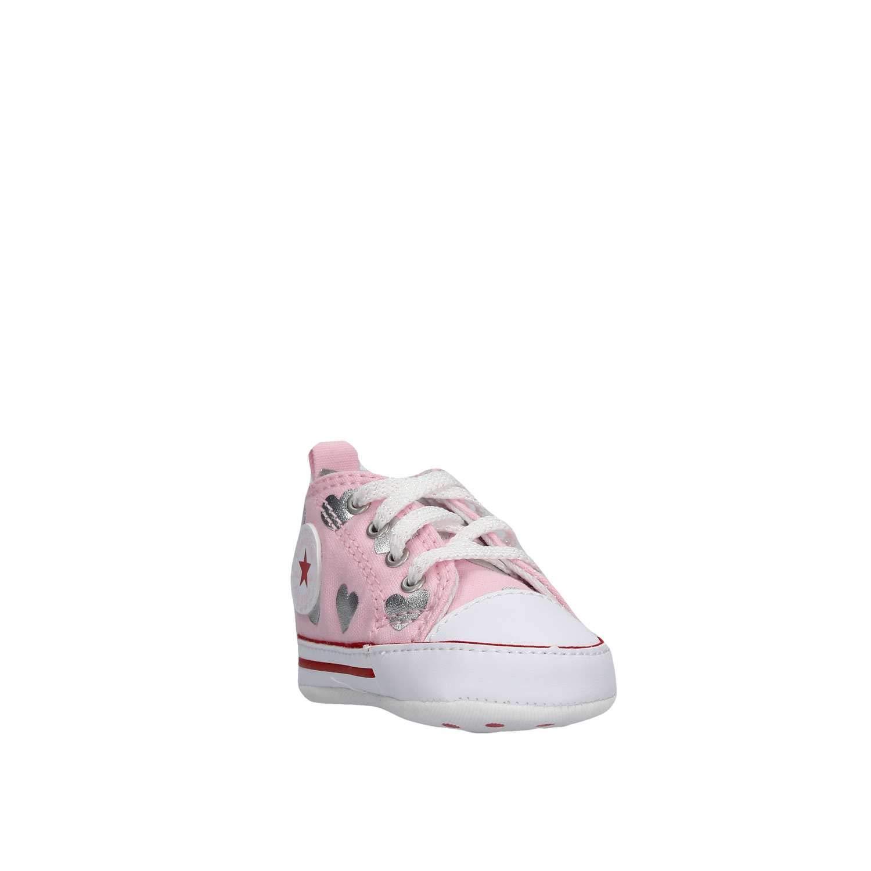 e1758b0441e73 Converse Scarpe Baby Sneakers Chuck Taylor all Star in Tela Rosa 864488C   Amazon.it  Scarpe e borse
