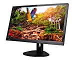 28in UHD LED CrystalPro 4K 60Hz DisplayPort, HDMI/MHL, DVI Monitor (Picture In Picture |Picture By Picture) - Black / Aluminum Bezel