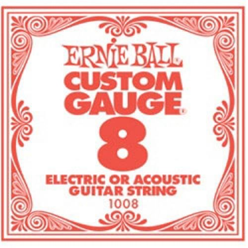 Ernie Ball EB1008 Single Steel Acoustic Electric Guitar Stri