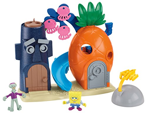 Imaginext Nickelodeon SpongeBob SquarePants Bikini Bottom Playset
