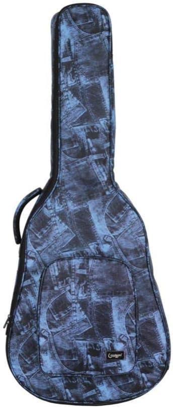 BHCW Patrón De Impresión 40/41 Pulgadas Bolsa De Guitarra Acústica ...