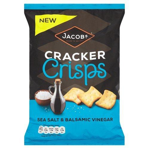 Jacobs Cracker Crisps Sea Salt and Balsamic Vinegar, 150g United Biscuits Delisted by Morrisons