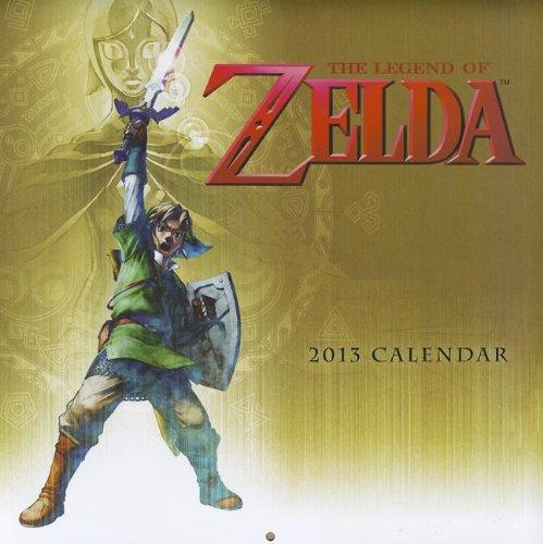 Legend Zelda 2014 Wall Calendar
