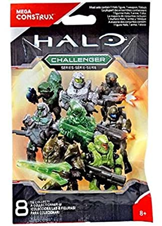 Amazon.com: Mega construx Halo Challenger Series Grunt Minor ...