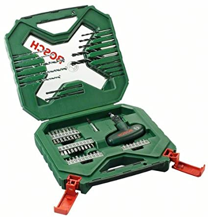 Top Bosch 2607010610 54-Piece X-Line Classic Drill and Screwdriver Bit WD75