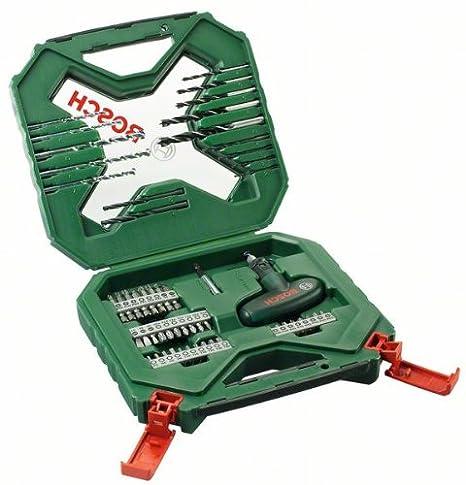Bosch 54tlg. X-Line Zubehö r Set (fü r Metall, Stein, Holz, Zubehö r fü r Elektrowerkzeuge) 2607010610