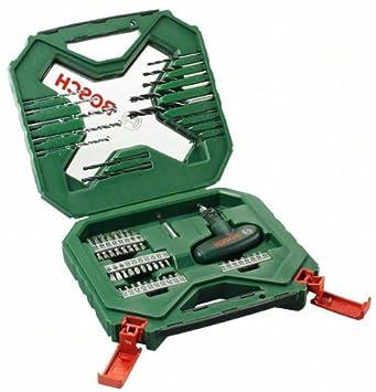 Bosch X-Line - Maletín de 54 unidades para taladrar y atornillar