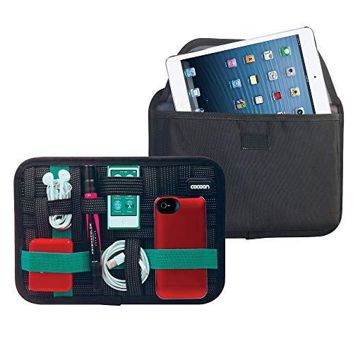 Cocoon CPG41BKT 8 Accessory Organizer with Tablet Pocket (Black)