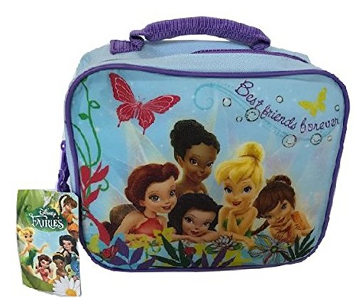 Disney Tinkerbell and Fairies Girls Lunchbox Insulated Lunch Bag