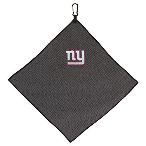 "Team Effort NFL New York Giants 15""x15"" Grey Microfiber Towel"